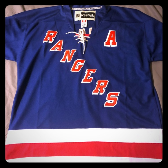XL men s New York Rangers Jersey. NWT. Reebok f03a73d50